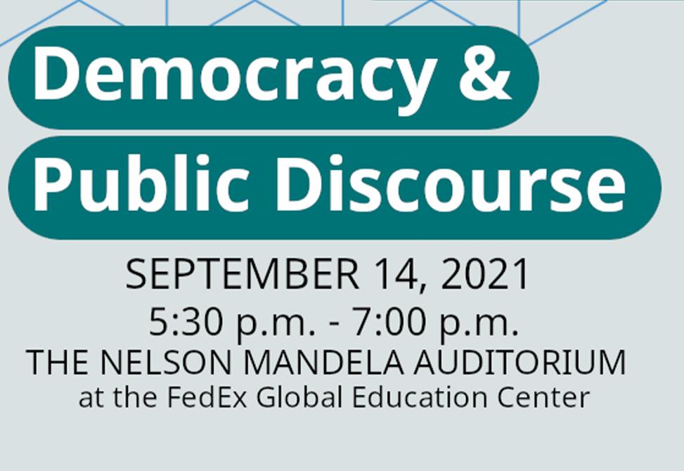 Democracy and Public Discourse